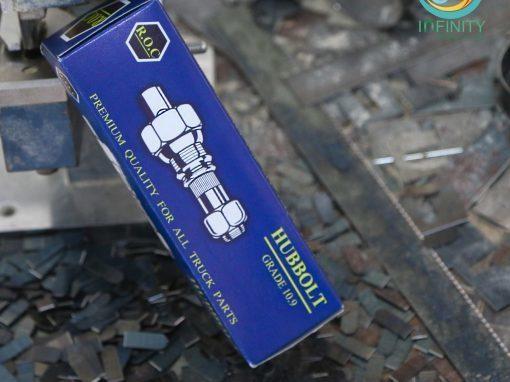กล่องบรรจุภัณฑ์  R.O.C HUBBOLT GRADE 10.9