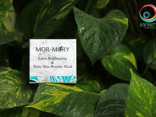 กล่องครีม MOR-MORY Baby Skin Booster Mask