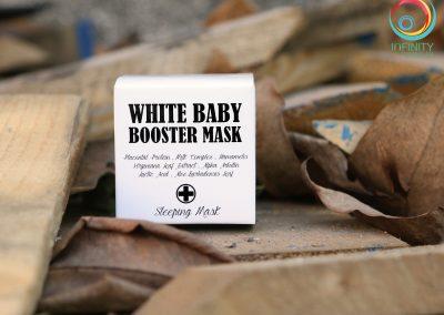 กล่องครีม WHITE BABY BOOSTER MARK