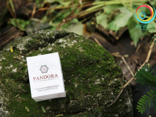 กล่องครีม PANDORA all natural products