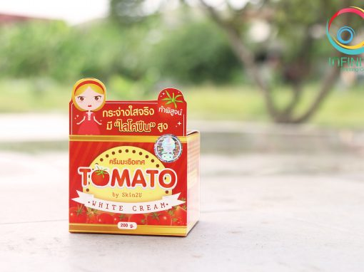 กล่องครีม(cream)TOMATO White Cream
