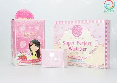 กล่องเซ็ตครีม Pink color
