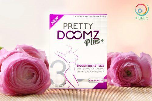 กล่องอาหารเสริม Pretty Doomz Plus