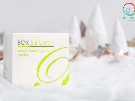 กล่องครีม BOX SECRET