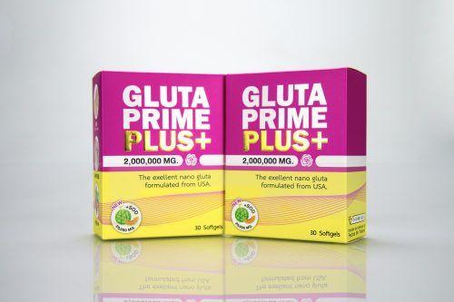 กล่องอาหารเสริม GLUTAPRIME