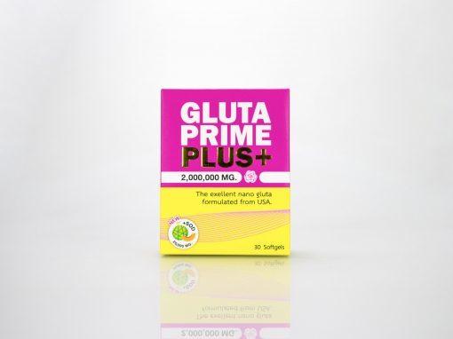 กล่องอาหารเสริม GLUTA PRIME PLUS+