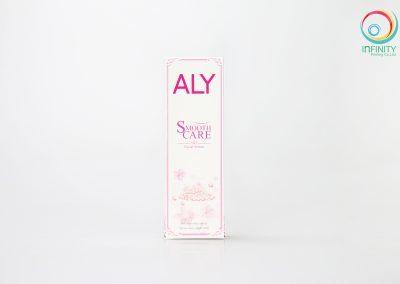 กล่องเซรั่ม ALY SmoothCare Facial Serum