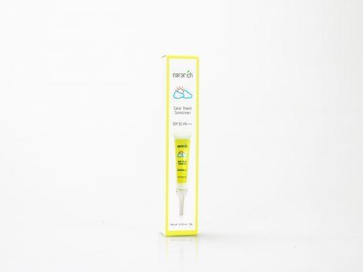 กล่องครีมกันแดด( cream)Nararich Solar Shield Sunscreen