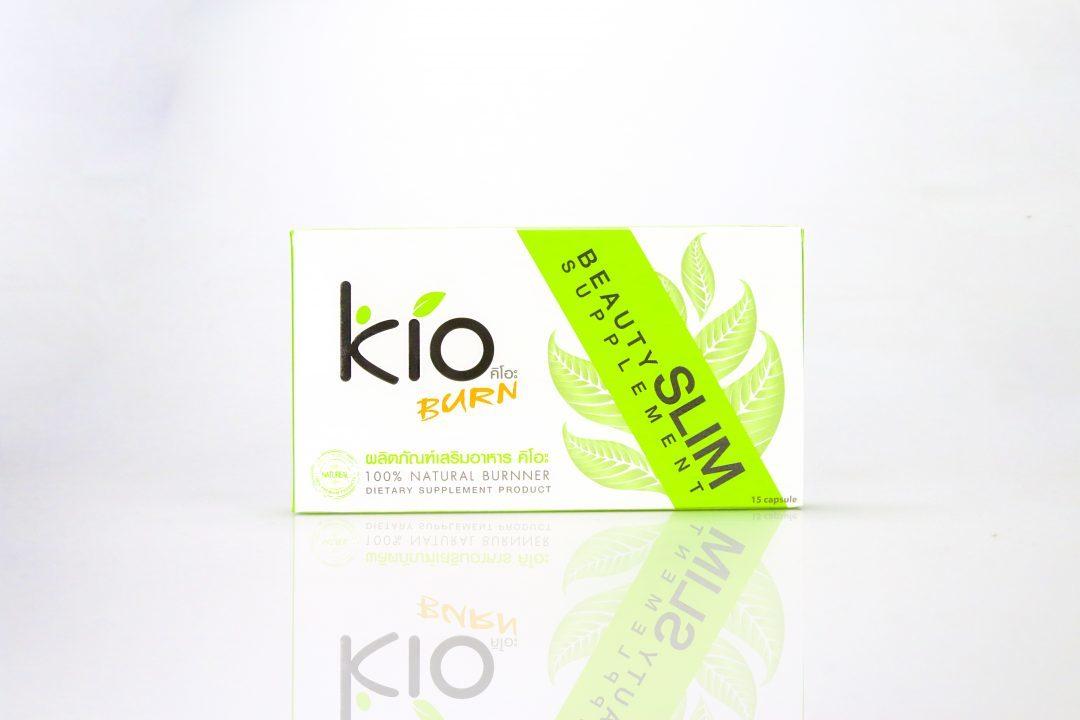 กล่องอาหารเสริม Kio Burn
