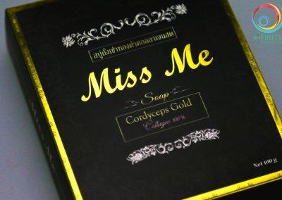 ผลงานปั๊มเคทองกล่อง Miss Me
