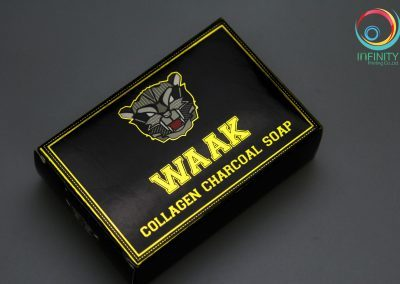ผลงานปั๊มเคทองกล่อง WAAK