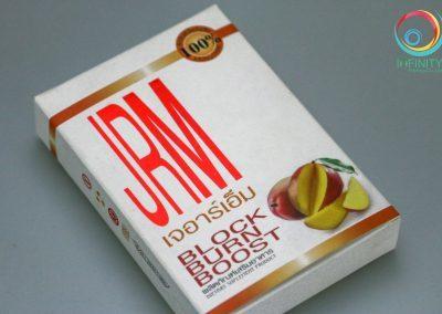 ผลงานปั๊มเคแดงกล่อง JRM BLOCK BURN BOOST
