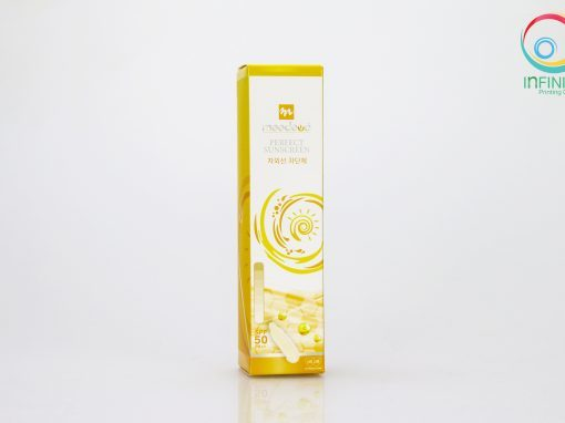 กล่องครีม(cream)Meedeva Perfect Sunscreen Cream