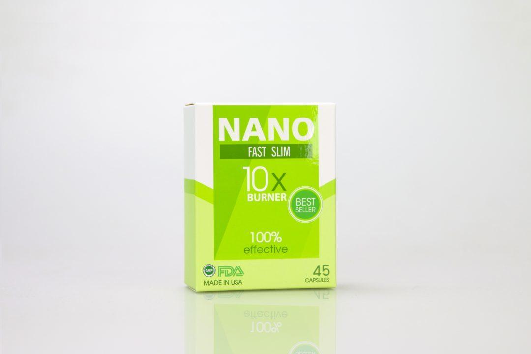 กล่องอาหารเสริม NANO Fast Slim