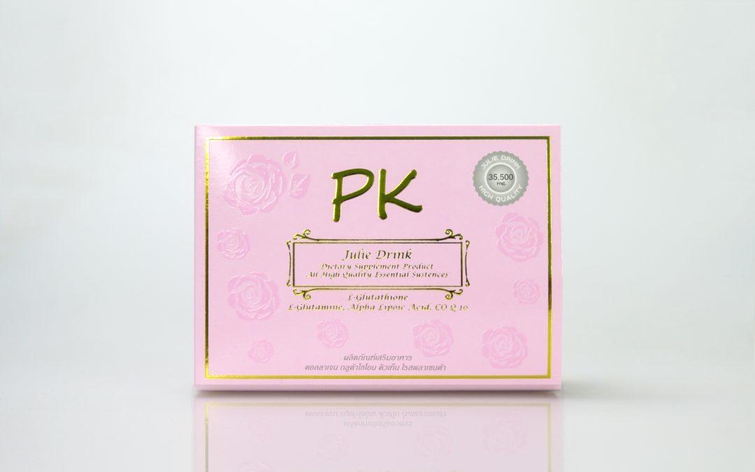กล่องอาหารเสริม PK Julie Drink