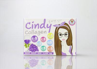 กล่องอาหารเสริม Cindy Collagen