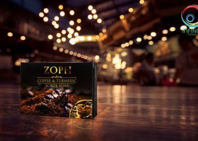 กล่องสบู่ ZOPH COFFEE & TURMERIC
