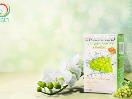 กล่องอาหารเสริม Emerald Collagen Peptide