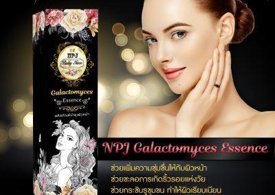 ป้าย Ads แบนเนอร์ NPJ Galactomyces Essence