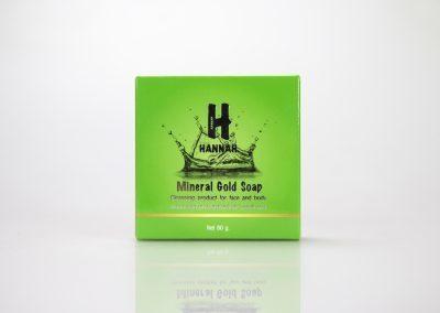 กล่องสบู่ HANNAH Mineral Gold Soap