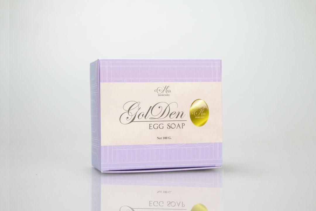 กล่องสบู่ Mns skincare Golden Egg Soap