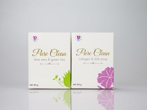 กล่องเครื่องสำอางPure Clean Alovera & Green Tea