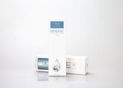 กล่องบรรจุภัณฑ์ MINERAL rose water spray