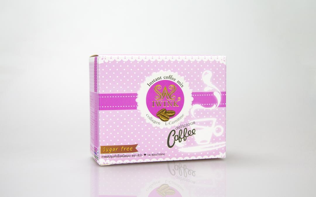 กล่องอาหารเสริม IWINK Instant coffee mix
