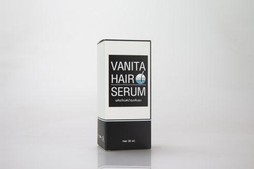 กล่องเซรั่ม VANITA HAIR SERUM