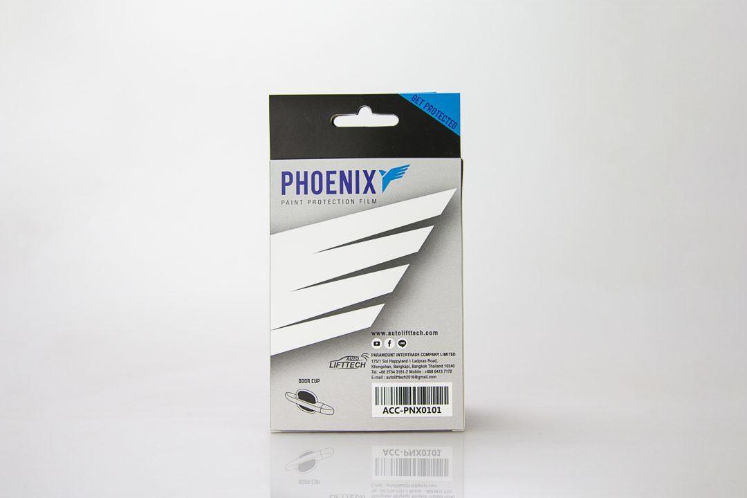 กล่องบรรจุภัณฑ์ PHOENIX paint protection film