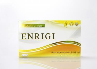 กล่องอาหารเสริม ENRIGI Dietary Supplement Product