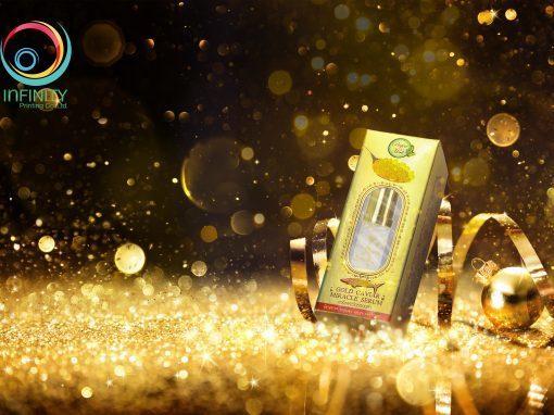 กล่องเซรั่ม Perfect Herb Gold Caviar miracle serum