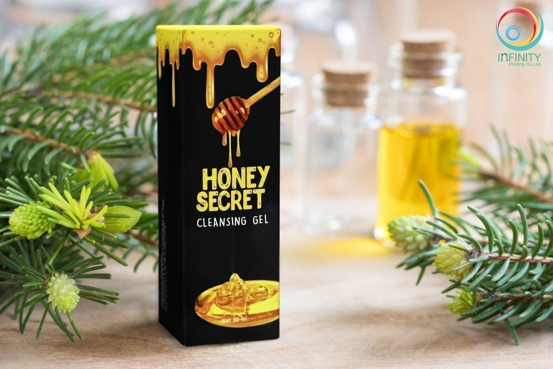 กล่องครีม Honey Secret Cleaning Gel