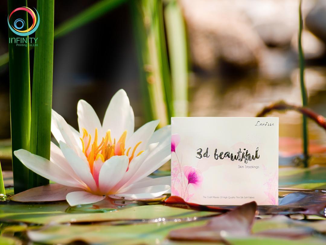 กล่องบรรจุภัณฑ์ Larissa 3d Beautiful Skin Stocking