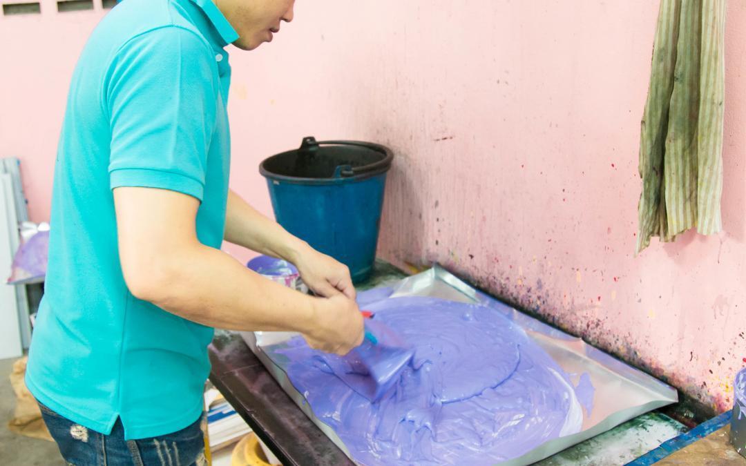 การผสมสีที่ใช้ในงานพิมพ์