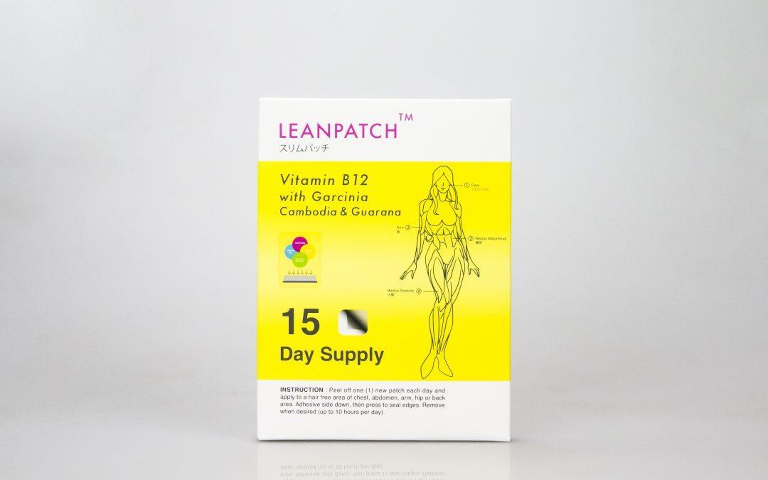 กล่องอาหารเสริม LEAN PATCH Vitamin B12