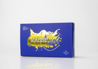 กล่องอาหารเสริม MUXXZUMM Herb Supplement Product
