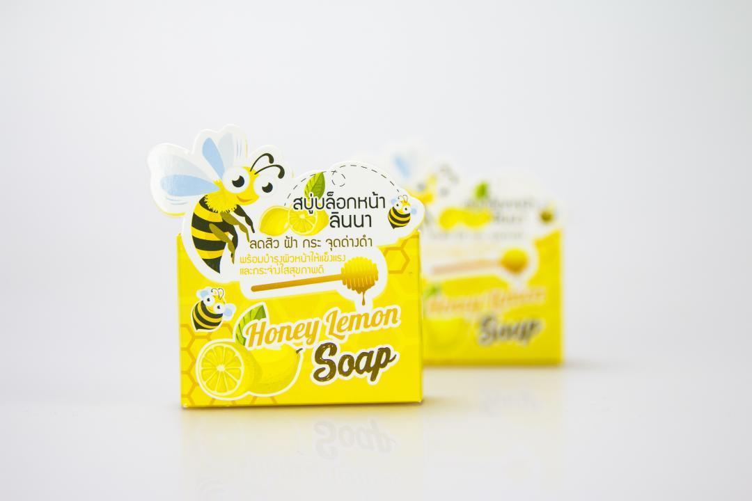 กล่องสบู่ Lemon Honey Soap