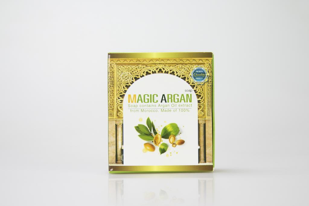 กล่องสบู่ MAGIC ARGAN