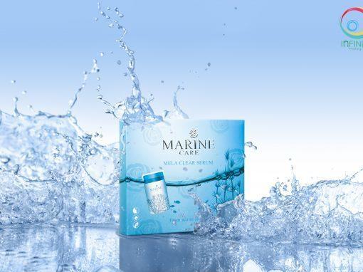 กล่องเซรั่ม MARINE CARE Mela Clear Serum