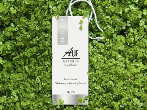 กล่องเซรั่ม AUF FACE SERUM Limited Edition