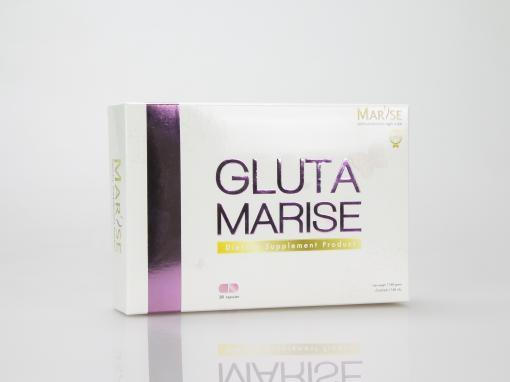 กล่องอาหารเสริม(supplement)GLUTA MARISE Dietary Supplement Product
