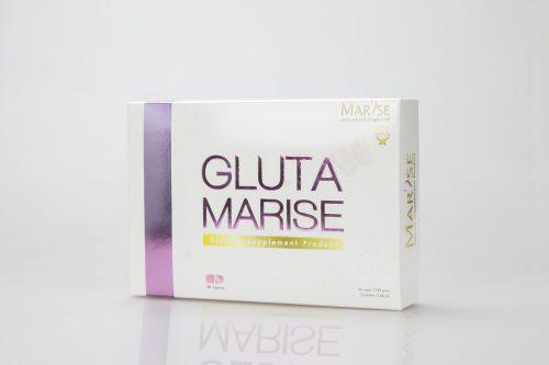 กล่องอาหารเสริม GLUTA MARISE Dietary Supplement Product