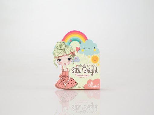 กล่องครีม(cream)linna princess silk bright sunscreen