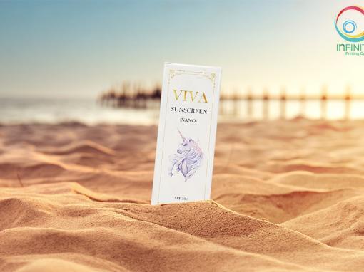 กล่องครีม(cream)VIVA SUNSCREEN NANO