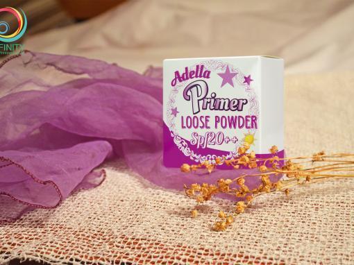 กล่องแป้งรองพื้น Adella Primer Loose Powder