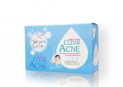 กล่องบรรจุภัณฑ์ Sugar Cane Clear Acne