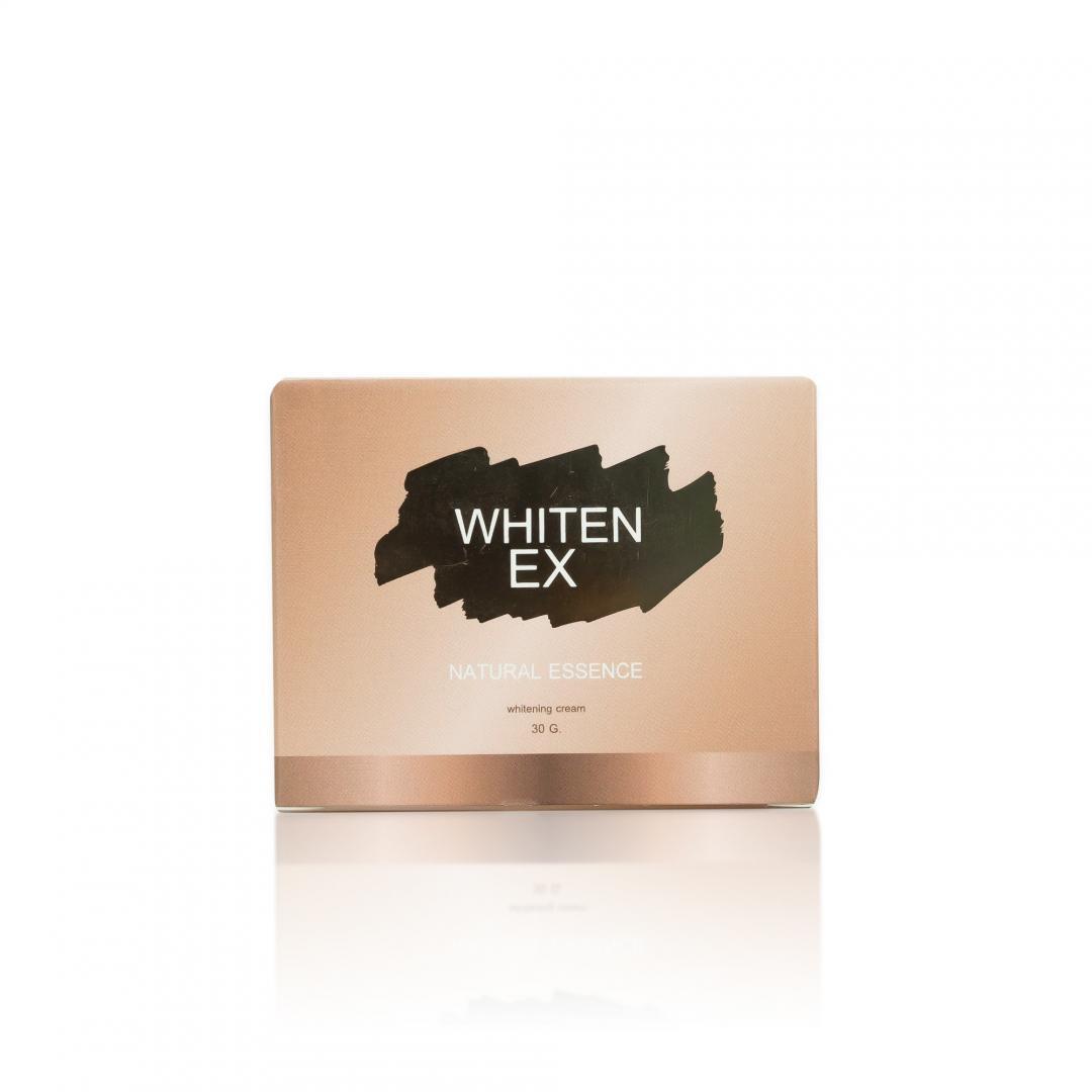 กล่องครีม WHITEN EX