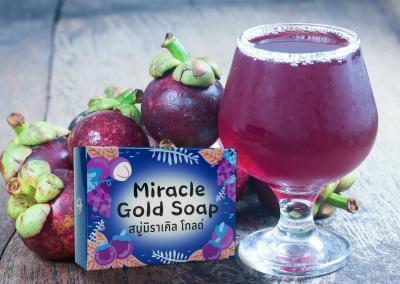 กล่องสบู่ Miracle Gold Soap
