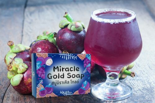กล่อง miracle gold soap ลงเว็บ